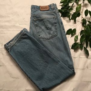 Dolce And Gabbana Vintage Ittierre Jeans